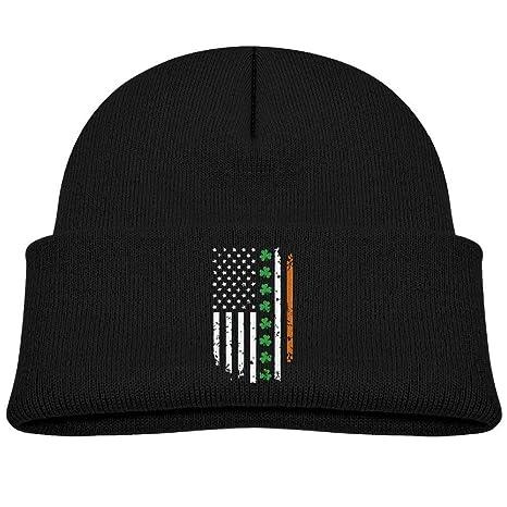 Nifdhkw Bandera Irlandesa de Estados Unidos EE. UU. Unisex Kids ...