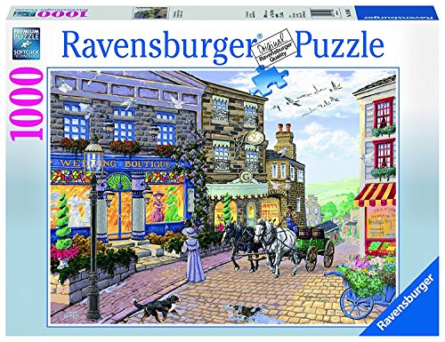 Ravensburger The Wedding Shop 1000 Piece Jigsaw Puzzle for Adults – Every Piece is Unique, Softclick Technology Means Pieces Fit Together Perfectly