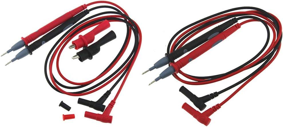 Demino PT1003 20A Universalsonde Pr/üfkabel Multimeter-Meter Pr/üfvorrichtung Bleisonde Draht Pen Kabel