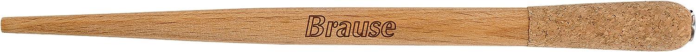 ergonomisch, Natur, 1 St/ück Brause 1621B Federhaltern Holz
