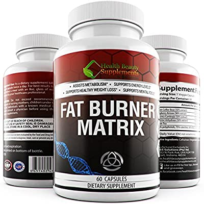 * EXTREME FAT BURNER MATRIX * Extra Strength Blend Of Best Selling Weight Loss Extracts Like Gacrinia Cambogia – Green Coffee Bean – Raspberry Ketones And Green Tea Extract