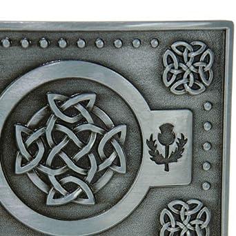 Hebilla de cinturón para falda escocesa, diseño de nudo Celta ...