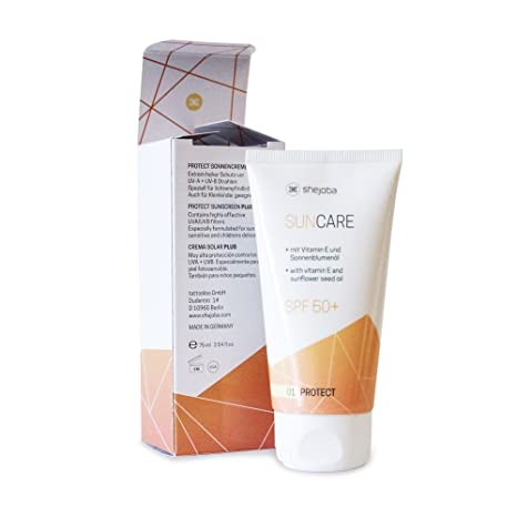 shejoba Suncare - Mineral de crema Solar SPF 50 + - Neutral ...