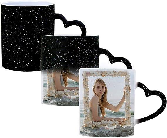 DEABOLAR Magische personalisierbare Kaffeetasse
