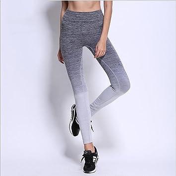 Yoga-L YB- Pantalones Deportivos de Mujer Pantalones ...