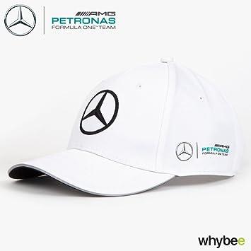 Gorra de fórmula 1, equipo blanco de Mercedes-AMG 2017, por Hugo Boss, adulto, talla única: Amazon.es: Deportes y aire libre
