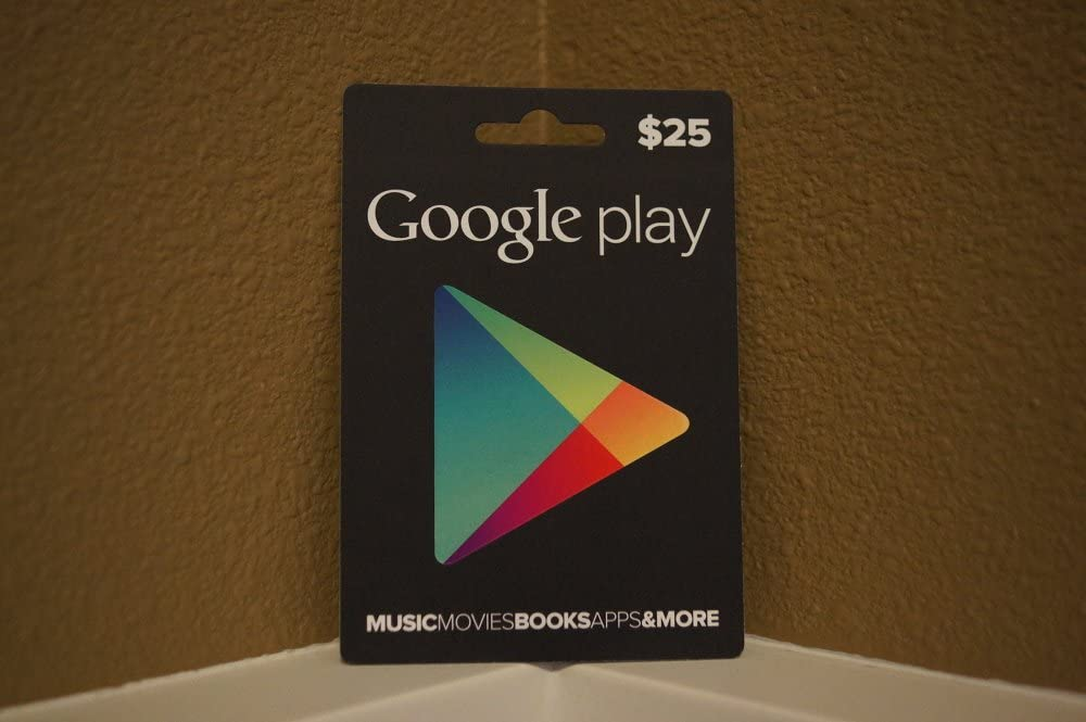 Amazon.com: Tarjeta de regalo de Google Play de $25 ...