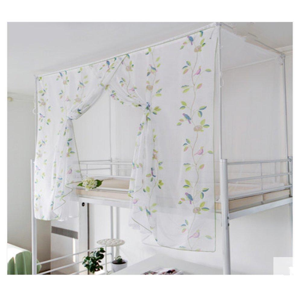 LSS Moskitonetz Schlafsaal Schlafzimmer Vorhänge Oberliege Undergraduate Bett Vorhänge Staubdichtes Doppelbett Moskitonetze