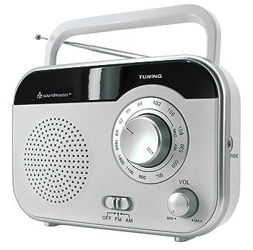 Soundmaster TR410WS Radio weiß: Amazon.de: Heimkino, TV & Video