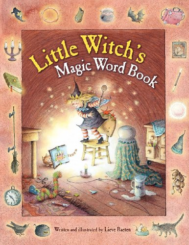 Little Witch's Magic Word Book