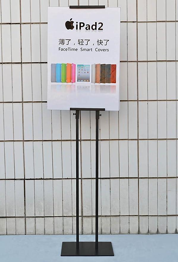 Amazon.com: Doble Polo Soporte de piso Cartel Mostrar, Metal ...