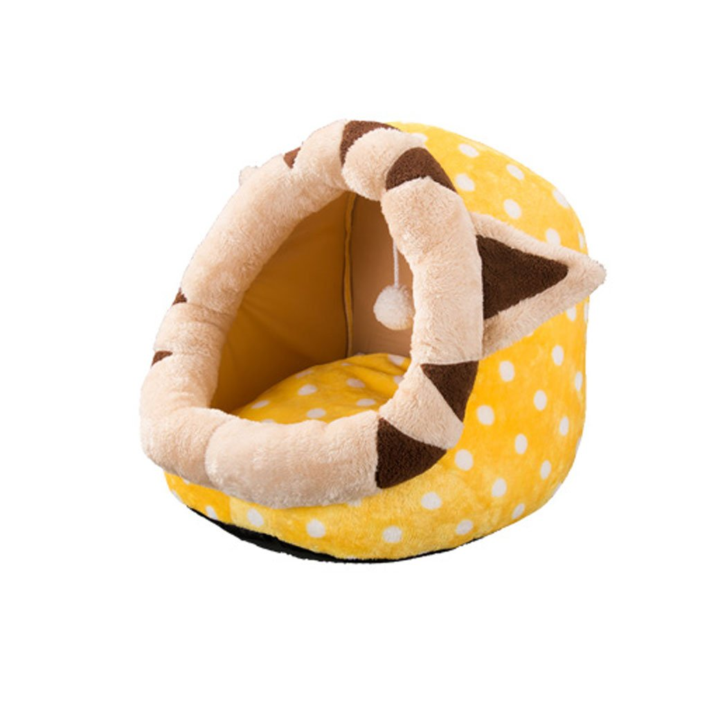 1 353532cmXINGZHE Pet CaveTent Bed for Cats Pet Mattress Bed for Dogs & CatsPet Supplies Cat Cage Cave Beds Cat CageWarming Beds Cat nets Pet bed (color   5, Size   45  42  34cm)