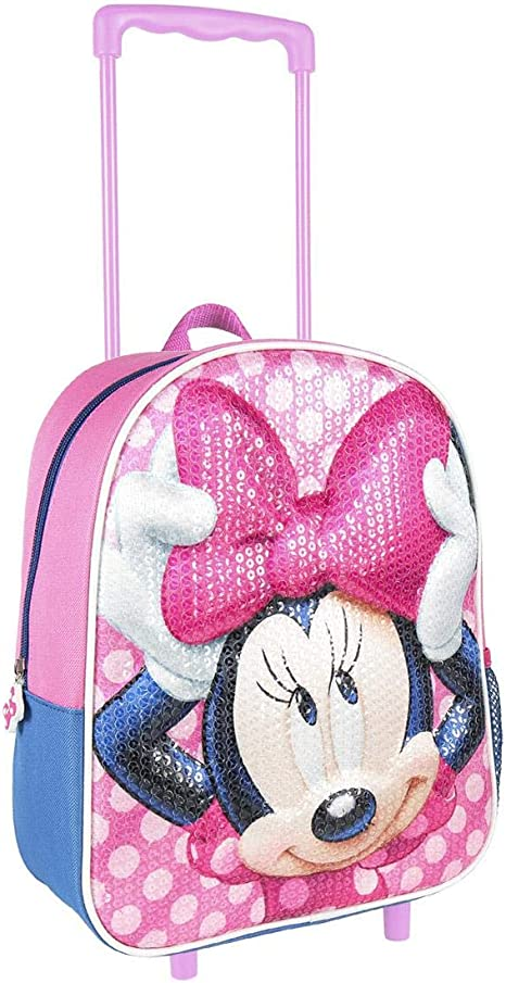 Rose Minnie Mouse Disney Sac /à Dos pour Filles