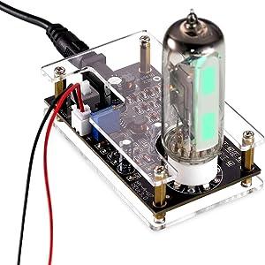 Nobsound Magic Eye 6E2 EM87 Tube Preamp; Audio Level Indicator; VU Meter; Music Spectrum; Vacuum Tube + Driver Board + Case