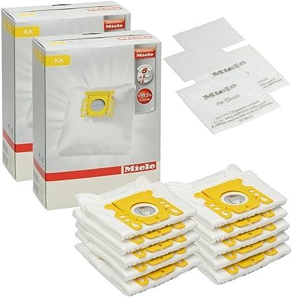 2 FILTRO Sacchetto per la Polvere Filtro Sacchetti 10 Sacchetto per aspirapolvere per Miele S 142