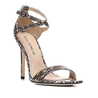 c55c5e51c7 Amazon.com | Via Spiga Women's Tiara Dress Sandal | Heeled Sandals