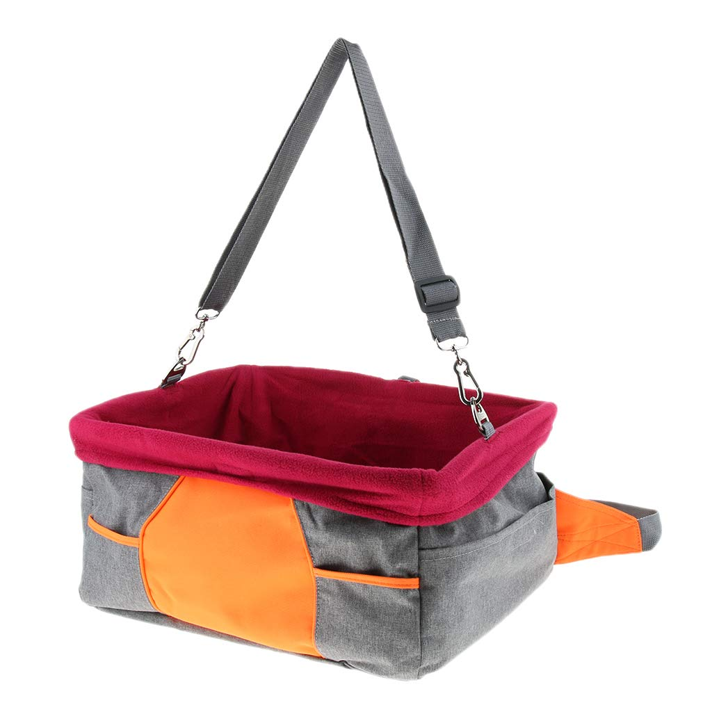 Homyl Pet Dog and Cat Outdoor Trip Car Seat Carrier Perfect for Small Medium Pets