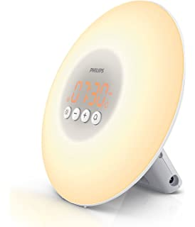 Philips HF3505 Light Therapy, simulador de amanecer con ...
