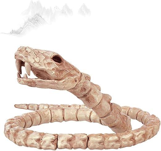QAR Simulado Esqueleto Animal Disfraz De Serpiente De Halloween ...