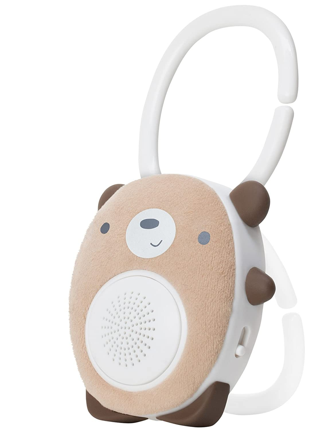 SoundBub by WavHello, White Noise Machine and Bluetooth Speaker | Portable and Rechargeable Baby Sleep Sound Soother – Bella the Bunny, White WH-22-457