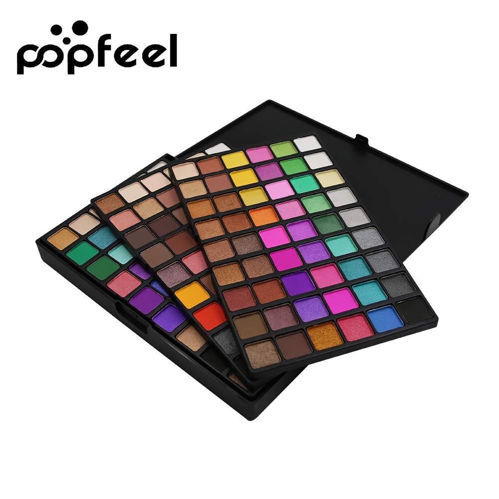 Anself Professional Makeup Eyeshadow Palette Set 3 Layers 162 Colors Eye Contour Powder Shimmer & Matte Eyeshadow Tray Women Cosmetic W7331-SCAHPR