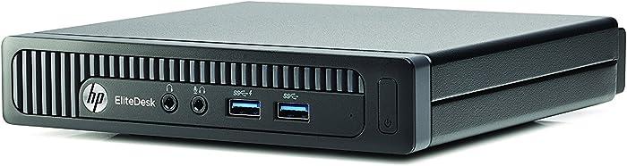 HP EliteDesk 705 G1 Tiny Desktop Computer, AMD Quad-Core A8 Pro-7600B up to 3.8GHz, 16GB RAM, 256GB SSD, Windows 10 Professional (Renewed)