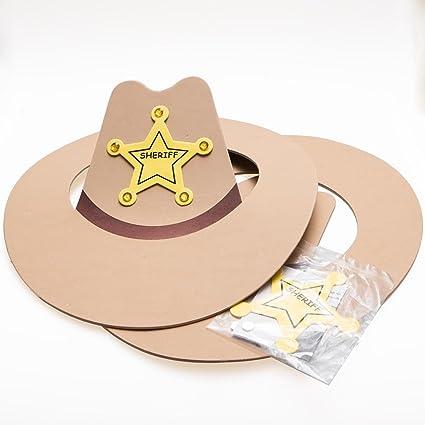 567c2ec0d01 Foam Cowboy Hat Craft Kits  Amazon.ca  Toys   Games