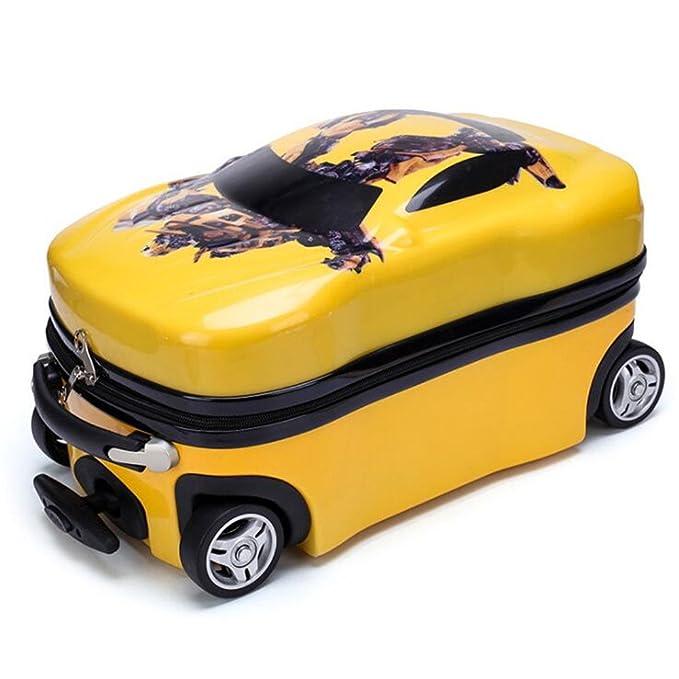 Amazon.com: Kids Cars veliz Equipaje de viaje Pull Rolling ...