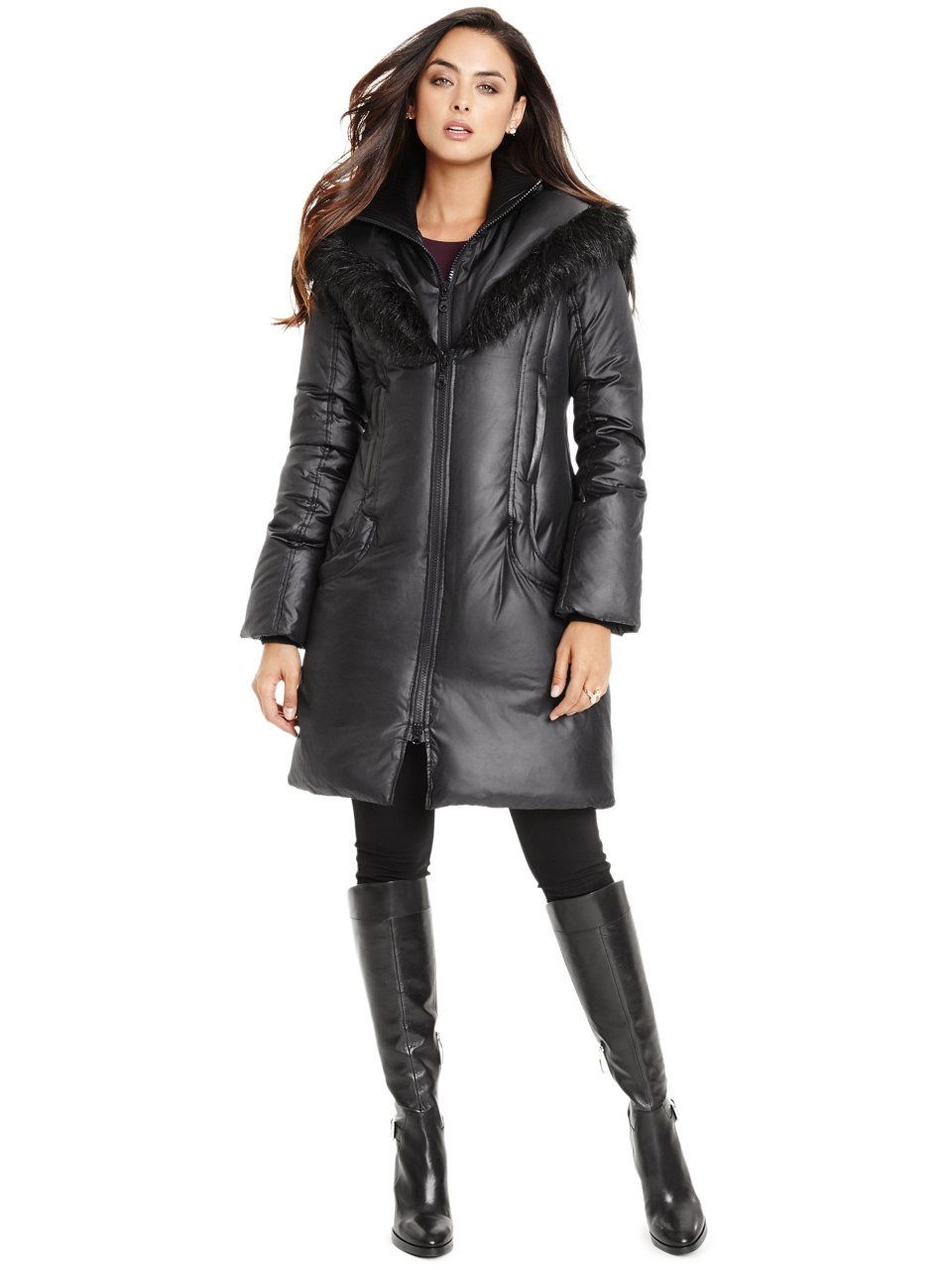 GUESS by Marciano Women's Jayde Down Puffer Coat by GUESS by Marciano (Image #1)