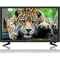 Lightwave 22 Inch LED TV with Receiver 1280x720 HD Ready, Black - 2019 Model