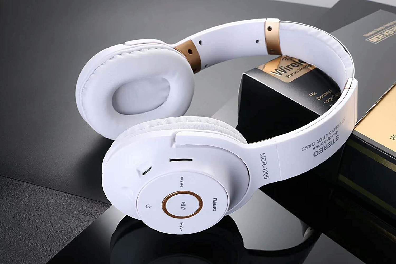 Stealkart Wireless Bluetooth Headphone with FM and SD Card Slot for Xiaomi,  Samsung, Apple and All Other Android Devices
