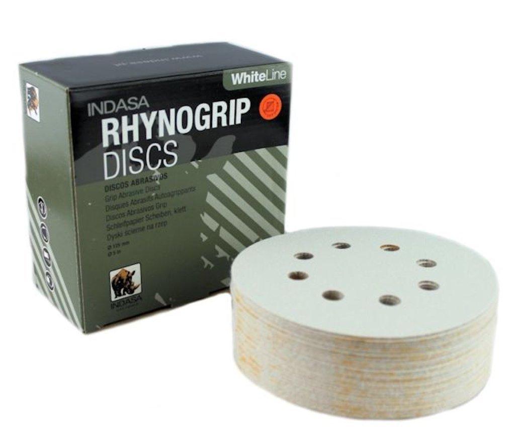 Indasa Disque Rhynogrip White Line à ˜ 1258F P80