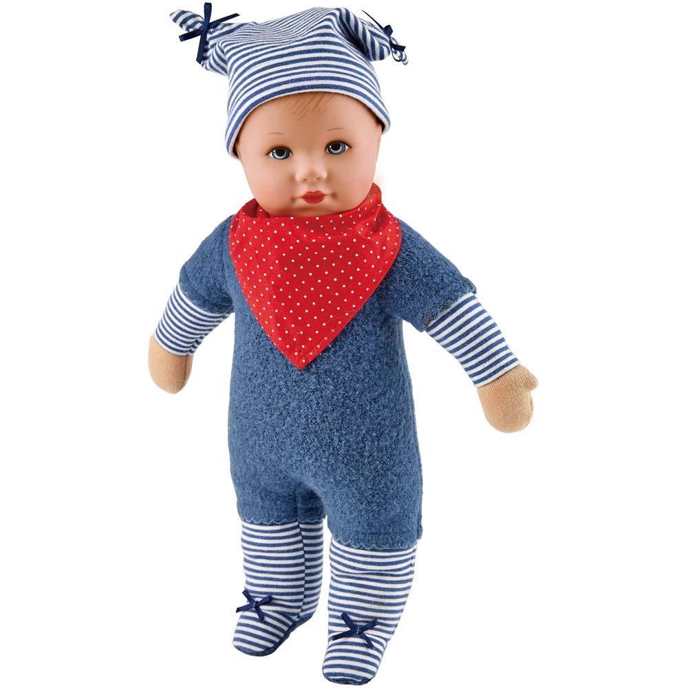 Käthe Kruse 0126609 Puppa Maxl, blau