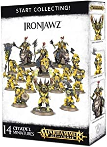 Warhammer Age of Sigmar Start Collecting! Ironjawz by Age of Sigmar