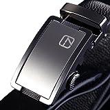 Teemzone - Cinturón de Piel para Hombre