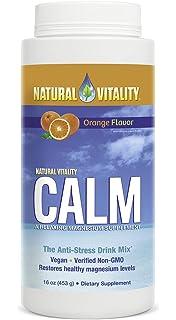 Natural vitalidad Natural calma, naranja, 16 oz