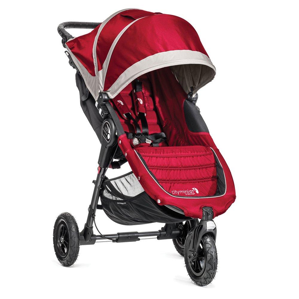 Baby Jogger 2014 City Mini GT Single Stroller, Crimson/Gray
