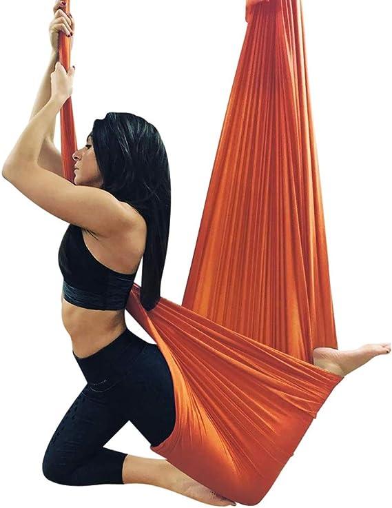Xuetaimeigu Yoga Hamaca Elástica Suspensiones para Interiores ...