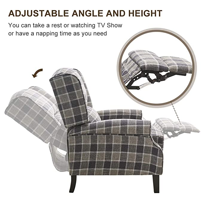 Grey Living Room Furniture Recliners EBTOOLS Recliner Chair