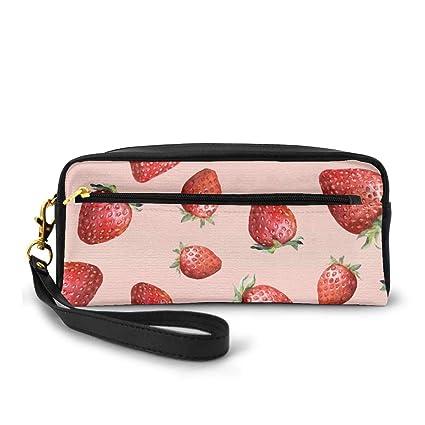 Red Strawberry Portable Travel Toiletry Bag Organizador de ...