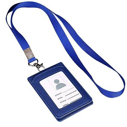 Vertical 2 Caras Titular Tarjeta de Crédito ID Badge Oficina ...