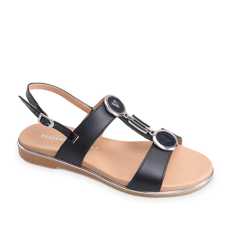 6bd0fd24 Venta caliente 2018 Valleverde Sandalias Zapatos Tacón bajo Mujer ...