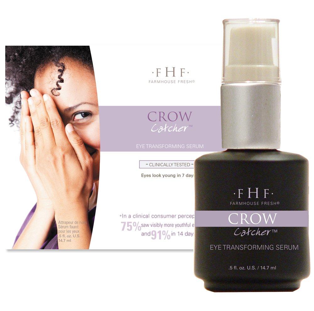 Farmhouse Fresh Crow Catcher Eye Perfecting Serum, 0.5 Ounce Mainspring America Inc. DBA Direct Cosmetics B00I4CDQK2