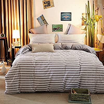 Juegos de cama, Juegos de funda nórdica, 100% algodón Home Hotel ...