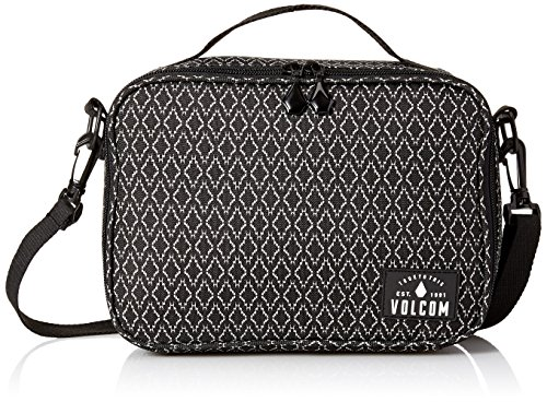 Volcom Brown Bag Lunch Box, Shoppers y bolsos de hombro Mujer, Schwarz (Black Combo), 8x19x26 cm (B x H T) Negro (Black Combo)