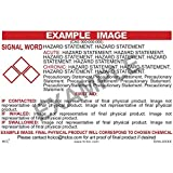 Hydrochloric Acid GHS Label Pack of 25 2 x 3