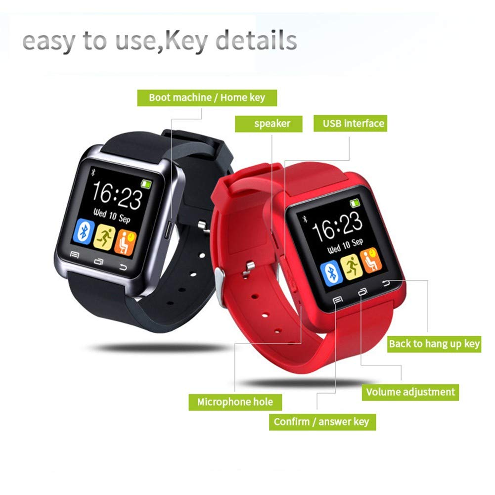 HCWF Bluetooth Smart Watch U8 smartwatch Reloj Deportivo con ...