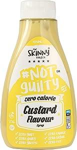 Skinny Foods Zero Calorie Skinny Syrup- Custard Flavour (425ml)