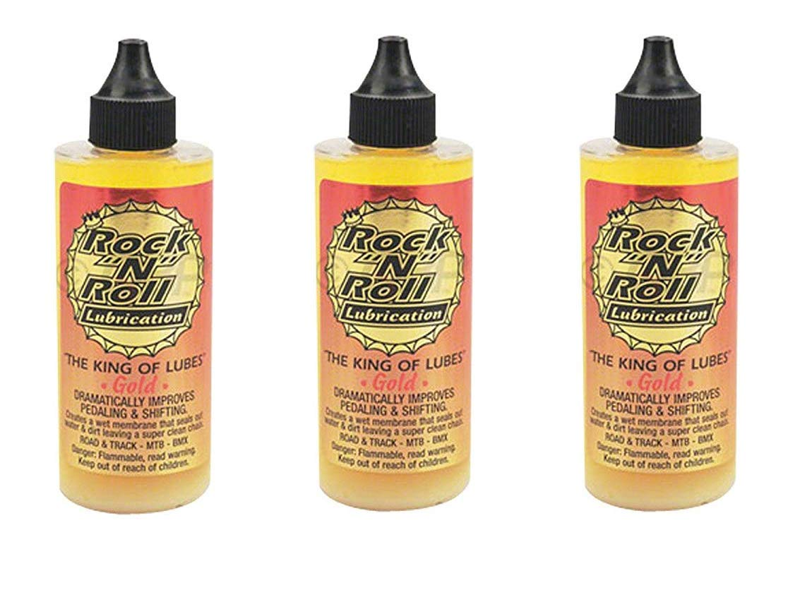 Rock N Roll 135816 Gold Chain Lubricant, 4-Ounce product image