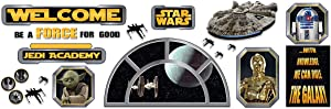 Eureka Star Wars Welcome Classroom Bulletin Set Classroom Decor, 0.1 x 18 x 28 inches, 24 Pieces